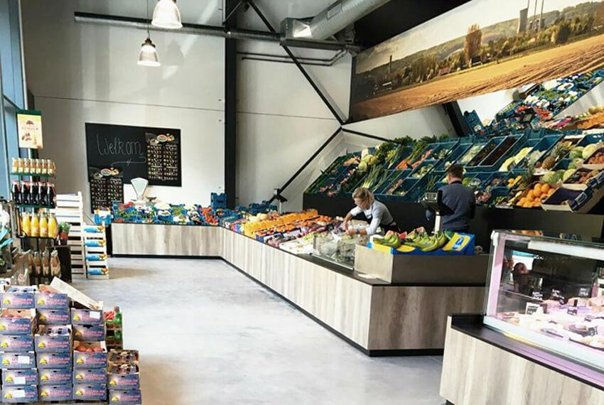 Winkelinrichting De Verscentrale (San Francisco) - Meubelen Devriese