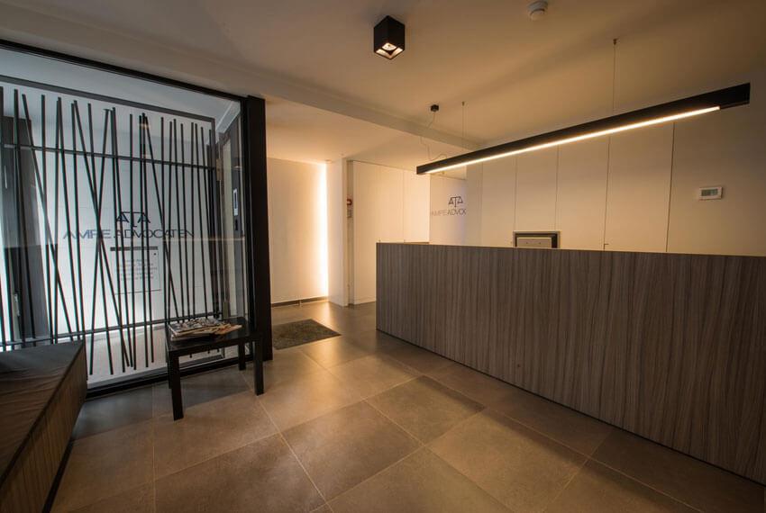 Kantoorinrichting Advocatenbureau Ampe (Oostende) - Meubelen Devriese