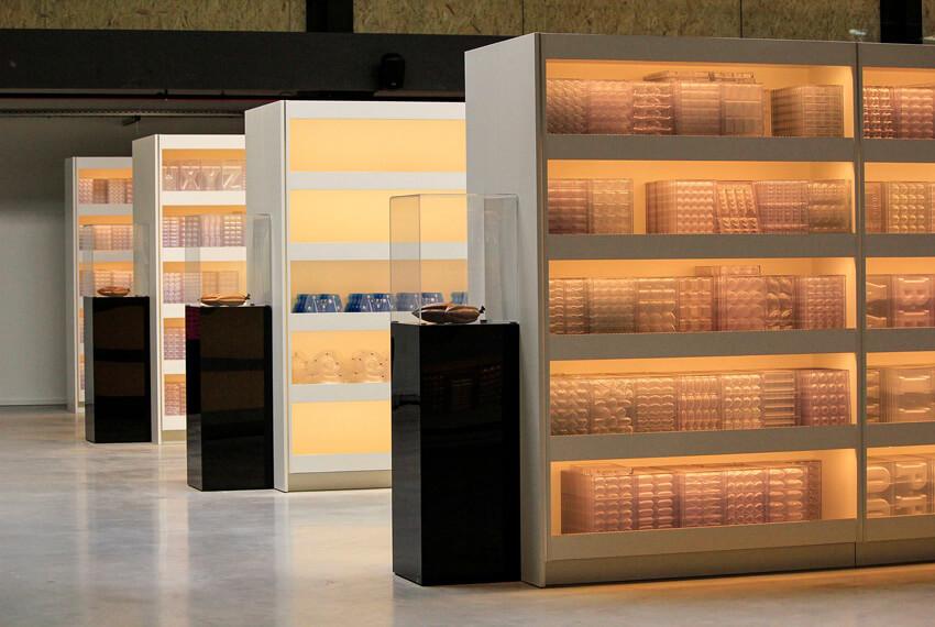 Winkelinrichting Chocolate world (Antwerpen) - Meubelen Devriese